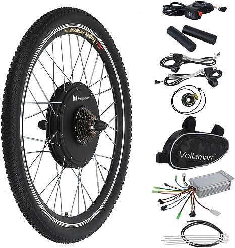 Kit de motor de conversión para bicicleta eléctrica, 36 V, 500 W ...