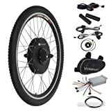 "Voilamart 36V 500W 26"" Rear Wheel Electric Bicycle Conversion Motor Kit E-bike Cycling Hub with Brushless Geared Hub Motor"
