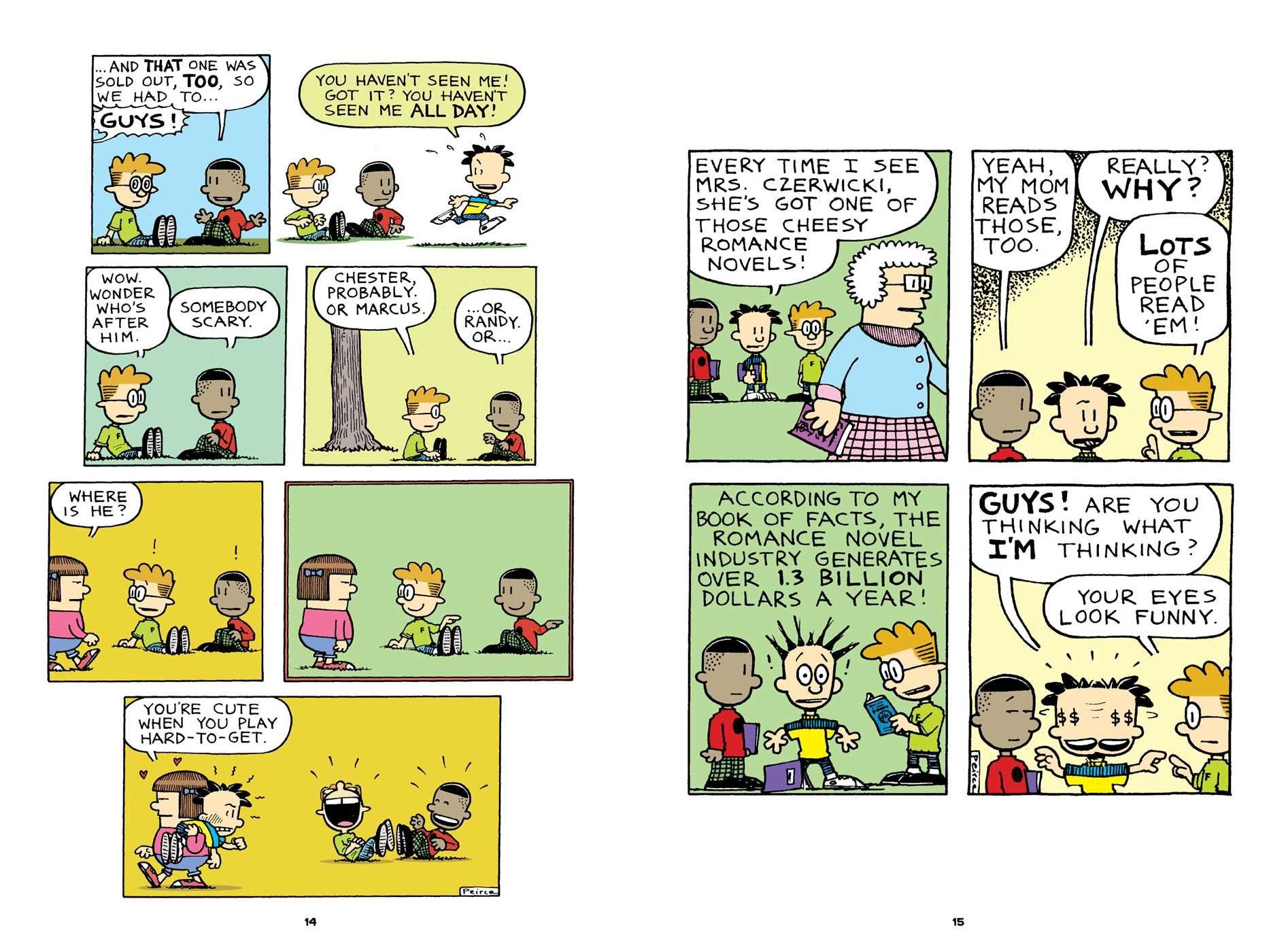 Big Nate: Revenge Of The Cream Puffs: Lincoln Peirce: 9781449462284:  Amazon.com: Books