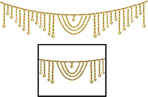 Amba Handicraft Toran/Door Hanging Toran/Window Valance/Dream Catcher/Home Décor Interior/Pooja bandanwaar/Diwali Gift/Indian Handicraft/Toran for Door Indian/Diwali Toran TN298
