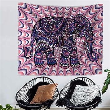 XXSZKAA Südostasien Asiatischen Elefanten Tapisserie Wohnzimmer ...