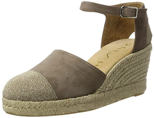 Unisa COSINA_KS, Alpargatas para Mujer, Marrón (Lodo), 37 EU: Amazon.es: Zapatos y complementos