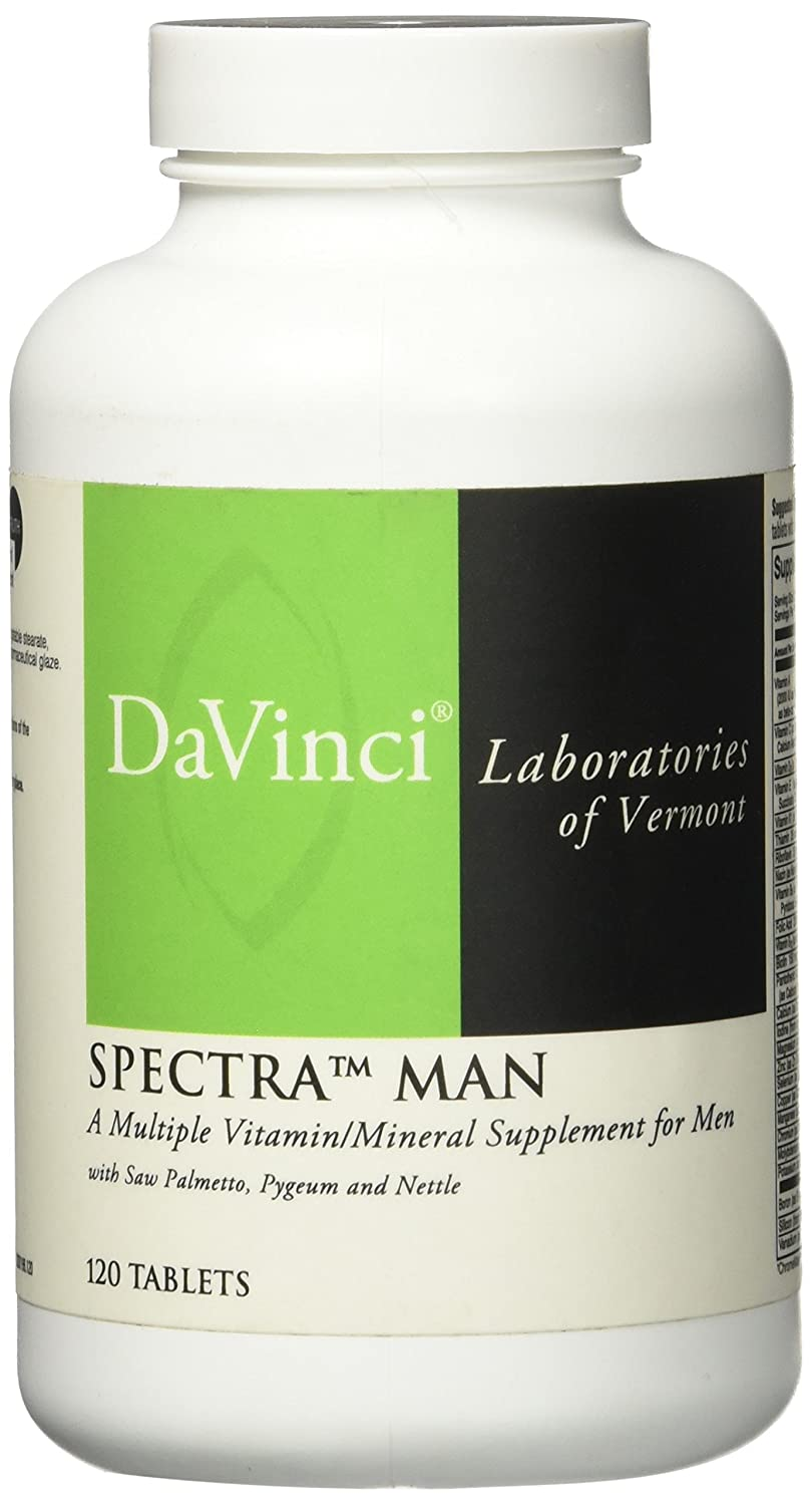 Davinci Labs – Spectra Man 120 vtabs Health and Beauty