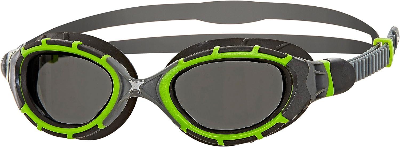 Zoggs Predator Flex Titanium Reactor Gafas de natación, Unisex Adulto