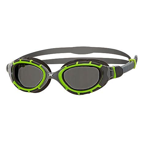 e1f89fc2abf1 Zoggs Unisex s Predator Flex 2.0 Titanium Reactor Swimming Goggles with  Anti-Fog and UV Protection