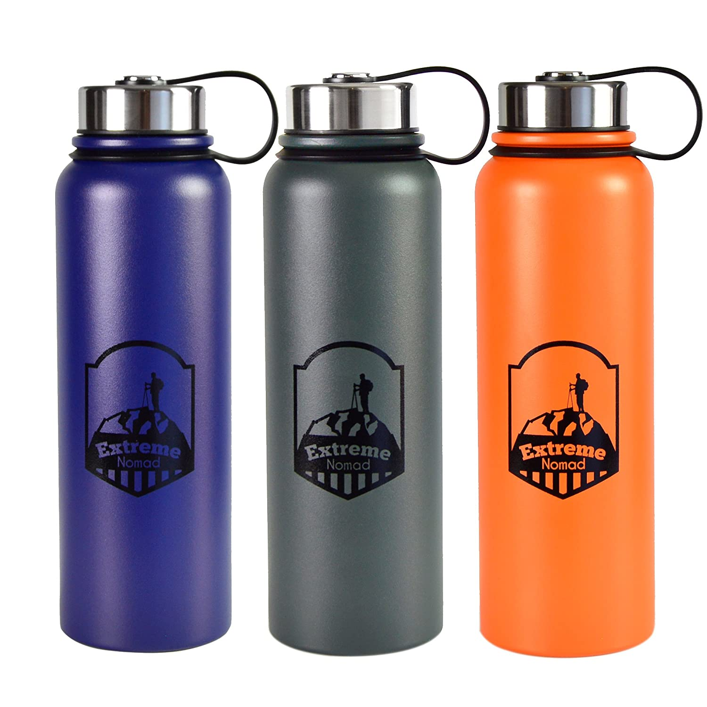 Edelstahl Wasser Wasser Wasser Flasche –-40 Oz Wide Mouth –-doppelwandig vakuumisoliert –-BPA-frei B01L9ODA3O | Modernes Design  64b2b5