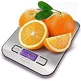 AngLink - Báscula de cocina digital con pantalla LCD para Cocina y Alimentos, 5 Kg / 1 g ( Pilas incluidas )