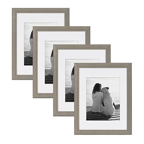 Amazon.com: DesignOvation Kieva - Marco de fotos (madera ...