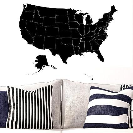 Amazon.com: LovingIn United States of America USA Map with States ...