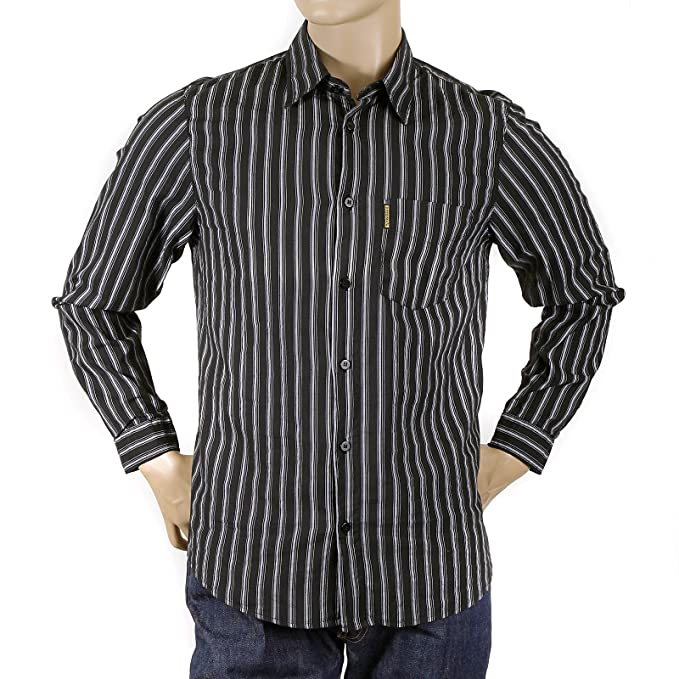 E6 Camicia C69lq Righe Nero A Armani Amazon Ajm0610 Jeans FEqwg