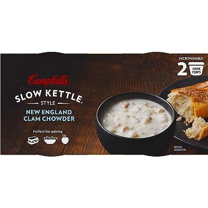 Campbells Sopa de microondas estilo hervidor lento, New ...