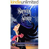 Brewing Up a Storm (A Moonstone Bay Cozy Mystery Book 6)