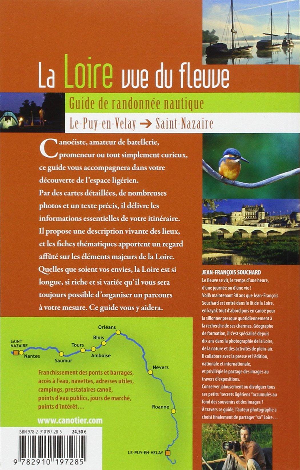 Amazonfr La Loire Vue Du Fleuve Guide De Randonnée Nautique