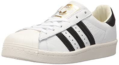 adidas Originals Men's Superstar Shoes, Ftwwht/Cblack/Goldmt, ...