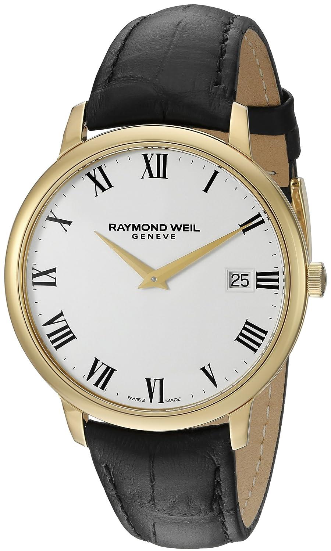 Raymond Weil Men s 5588-PC-00300 Analog Display Quartz Black Watch