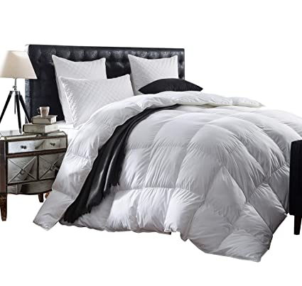 1e96ca6a933 Amazon.com  Luxurious 1200 Thread Count Goose Down Comforter Duvet ...