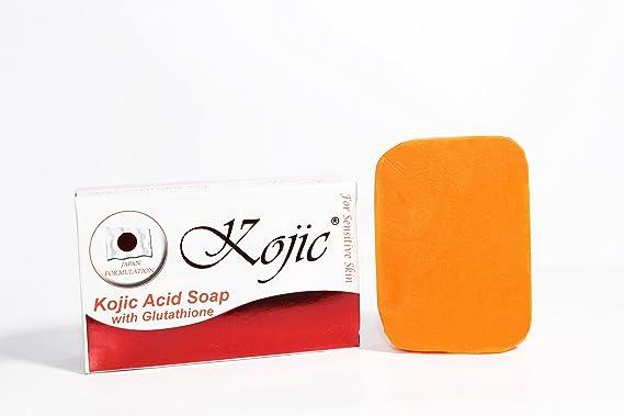 Kojic Soap with Glutathione for Sensitive Skin