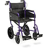 Patterson Medical Days Escape Lite Aluminium Wheelchair,  Purple - Standard