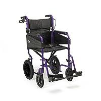 Patterson Medical Days Escape Lite Aluminium Wheelchair,  Purple - Standard