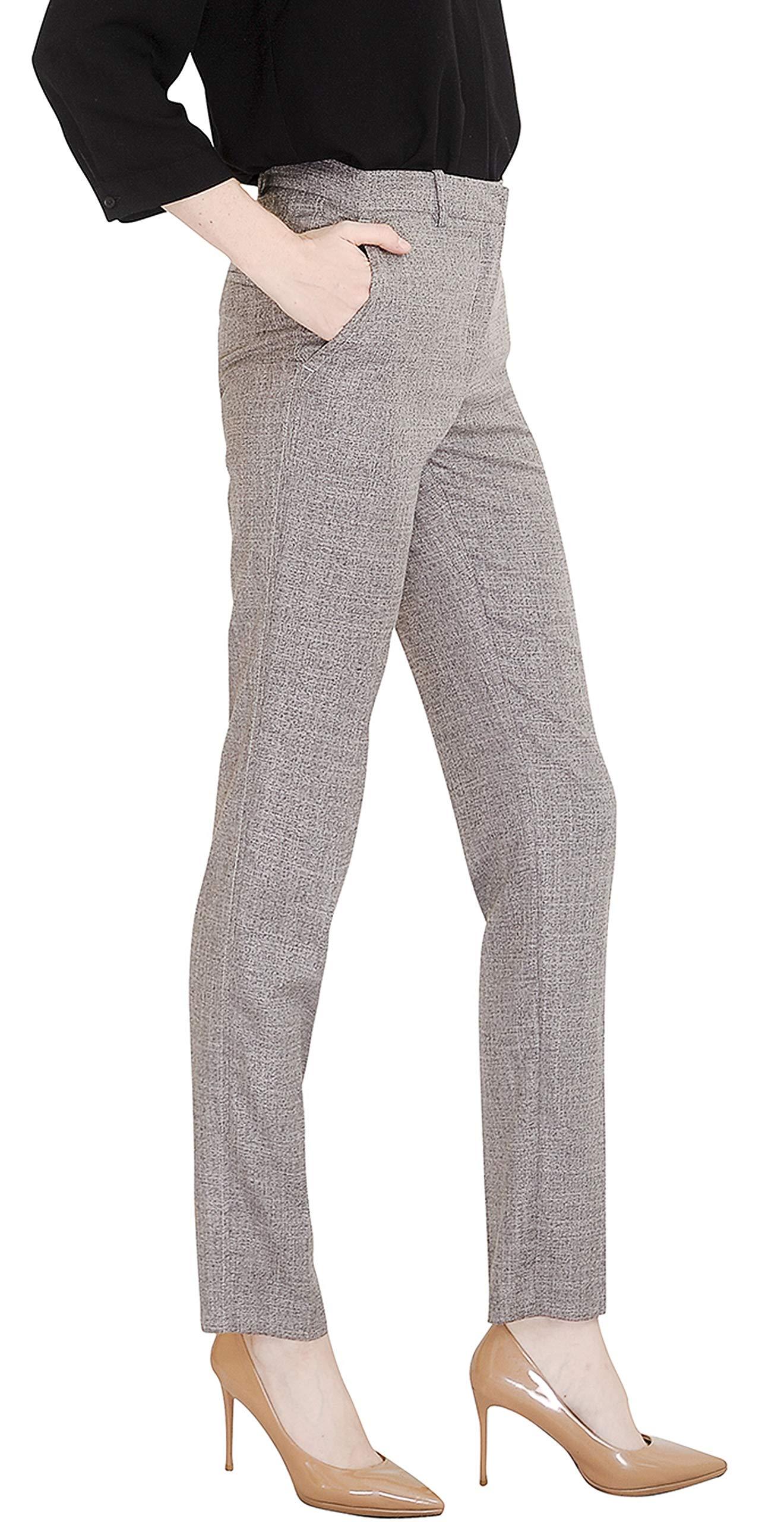 Marycrafts Women's Office Work Dress Slacks Pants Trousers Tall