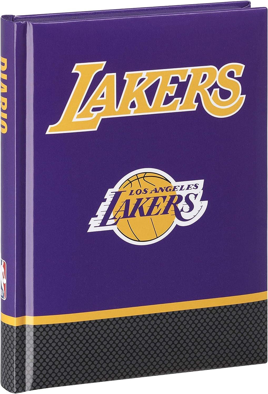 Diario 2020 2021 12 meses formato medium NBA LOS ANGELES LAKERS