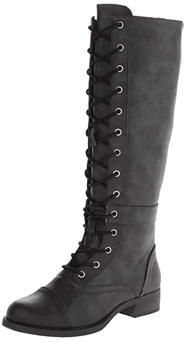 Edwardian Shoes & Boots | Titanic Shoes Rocket Dog Womens Calypso Stag Riding Boot $63.90 AT vintagedancer.com