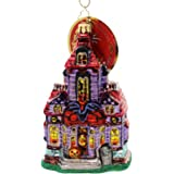 Christopher Radko Haunted Hangout Halloween House Christmas Ornament