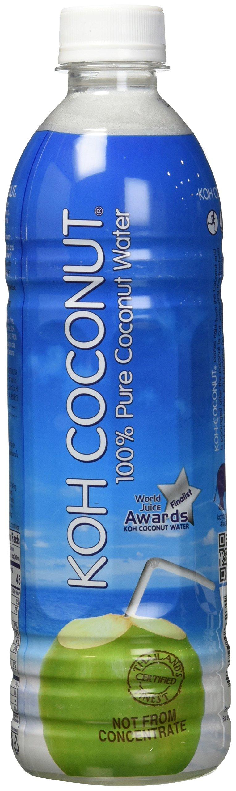 Amazon Com Koh Coconut 100 Pure Pink Baby Coconut Water