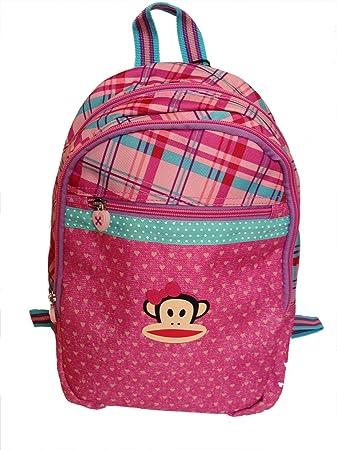 31e45d083e7d PAUL FRANK Mini small backpack kids pink monkey - Size  36 x 31 cm ...