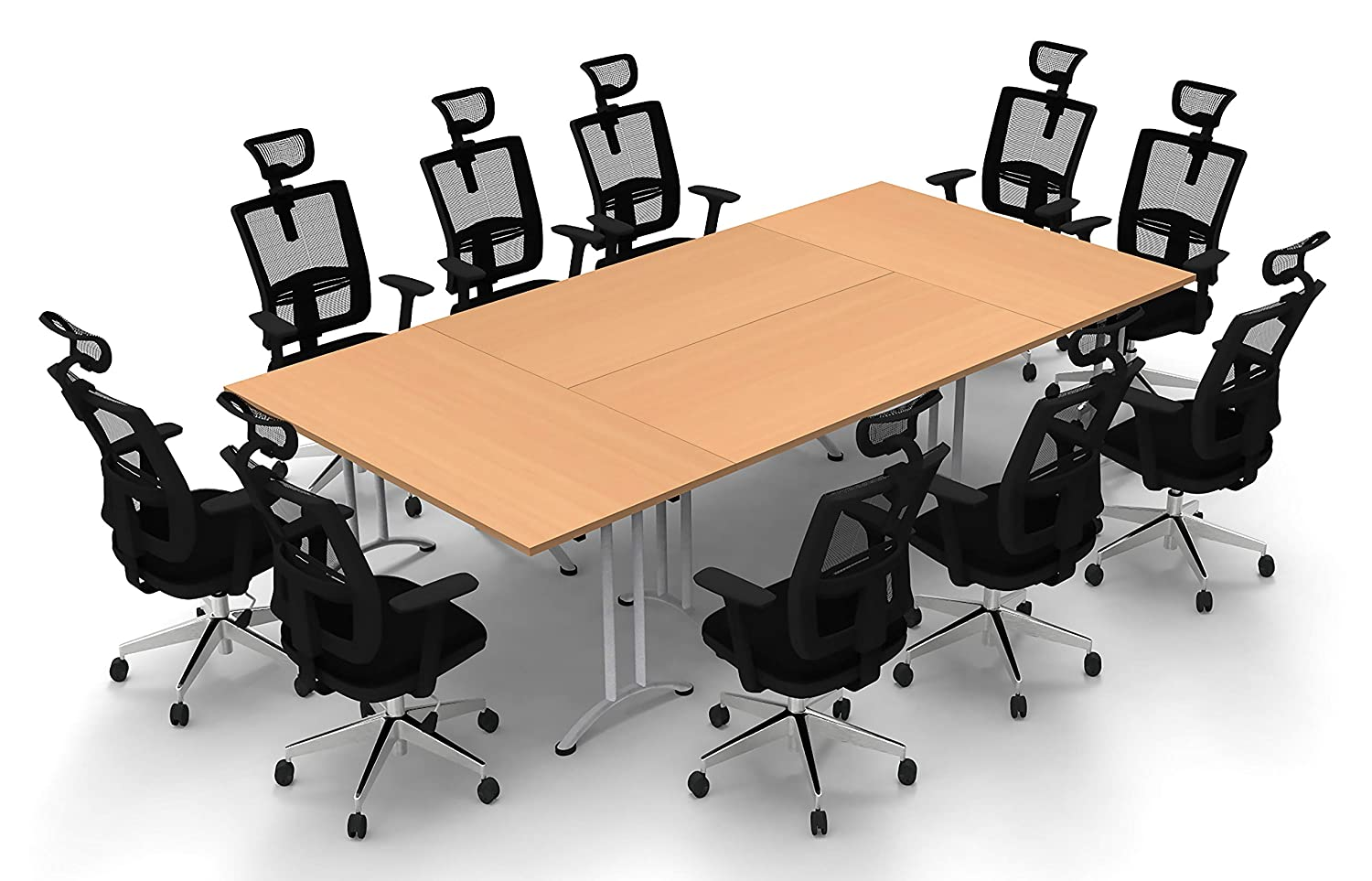 Amazon.com: Conference Tables Meeting Tables Seminar Tables ...