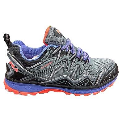 ff586649b2d Amazon.com   Fila TKO TR 6.0 Women's Sneaker 6.5 B(M) US Grey-Purple ...