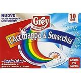 Grey - Acchiappacolore Acchiappa & Smacchia, 10 Buste - [confezione da 4]