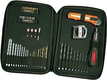 Casals A55 - Estuche de brocas (55 piezas): Amazon.es: Bricolaje y herramientas