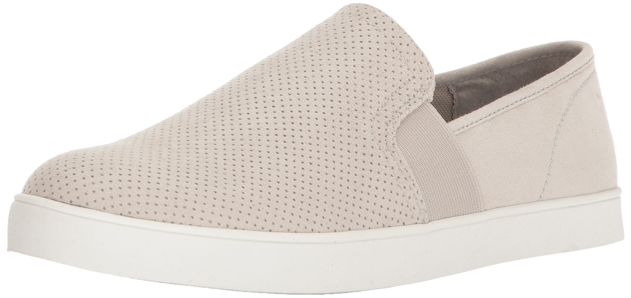 Dr. Scholl's Shoes Women's Luna Sneaker, Greige Microfiber Perforated, 9 M US