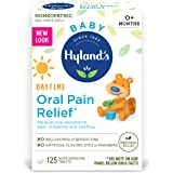 Hyland's Baby Oral Pain Relief Tablets with Chamomilla, Soothing Natural Relief of Oral Discomfort, Irritability, and Swellin