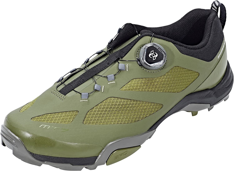 SHIMANO SHMT7PC450SO00 - Zapatillas Ciclismo, 45, Verde, Hombre: Amazon.es: Deportes y aire libre