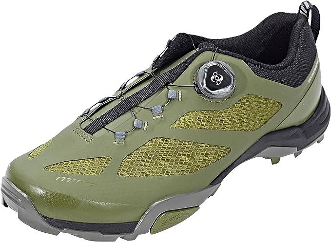 SHIMANO SHMT7PC430SO00 - Zapatillas Ciclismo, 43, Verde, Hombre ...