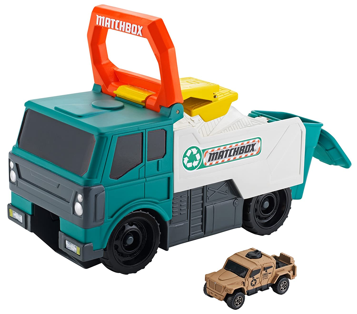 Amazon.com: Matchbox Power Launcher Garbage Truck: Toys & Games