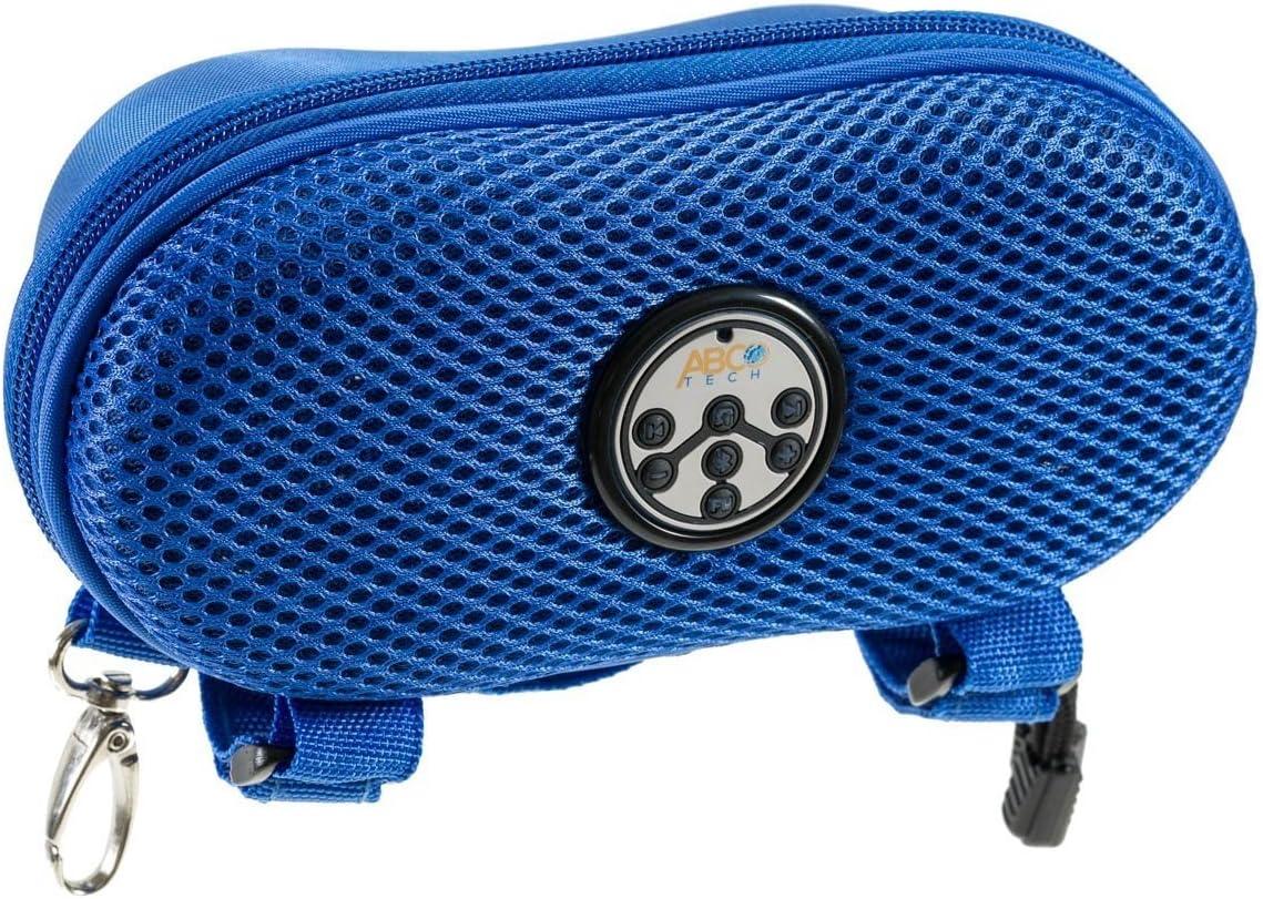 Abc Tech - Altavoz portátil y manos libres Bluetooth, azul: Amazon ...