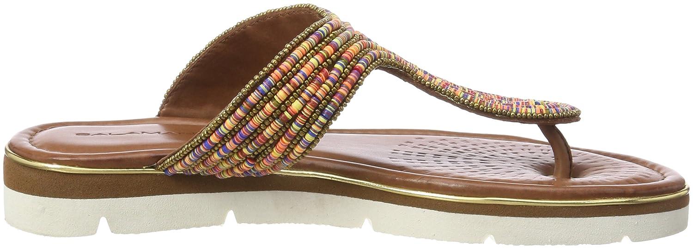Salamander Damen Reena Zehentrenner Braun (Multicolor (Multicolor Braun 39) 8454a0