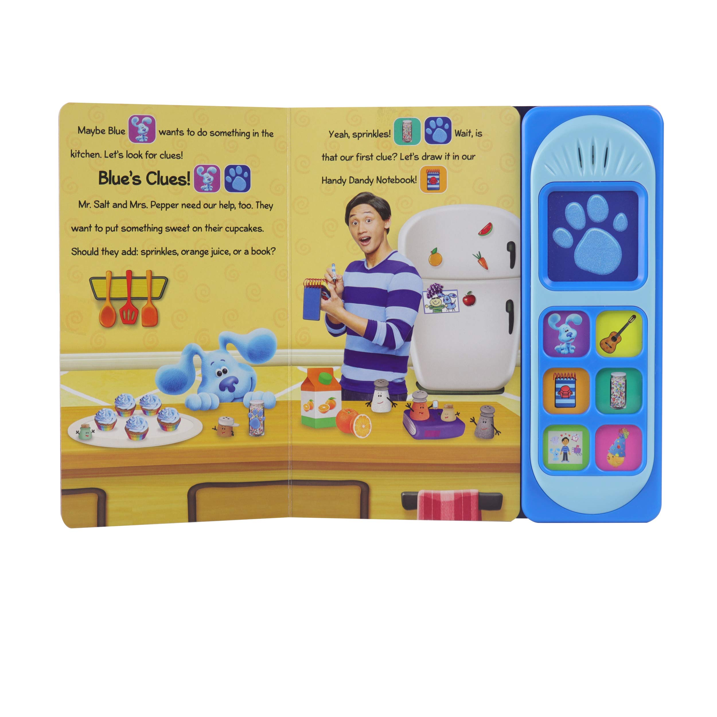 Buy Nickelodeon Blue S Clues You Play Day With Blue Play A Sound Book Online At Low Prices In India Nickelodeon Blue S Clues You Play Day With Blue Play A Sound Reviews Ratings