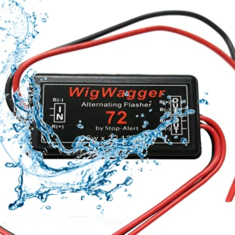 Stop-Alert WigWagger 72 LED Electronic Wig Wag Alternating Flasher on