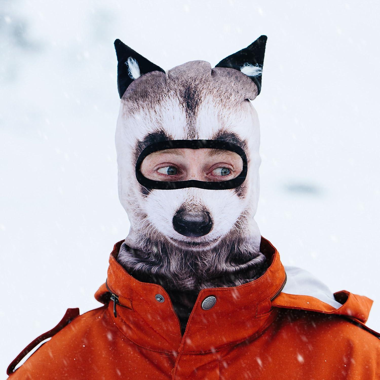 protezione per il viso passamontagna Beardo Passamontagna originale HD protezione dal freddo | Maschera da sci diversi motivi