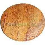Real Seed Sandalwood Turmeric Grinding Stone Big Size 6 INCH