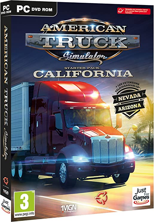 American Truck Simulator [Importación francesa]: Amazon.es: Videojuegos