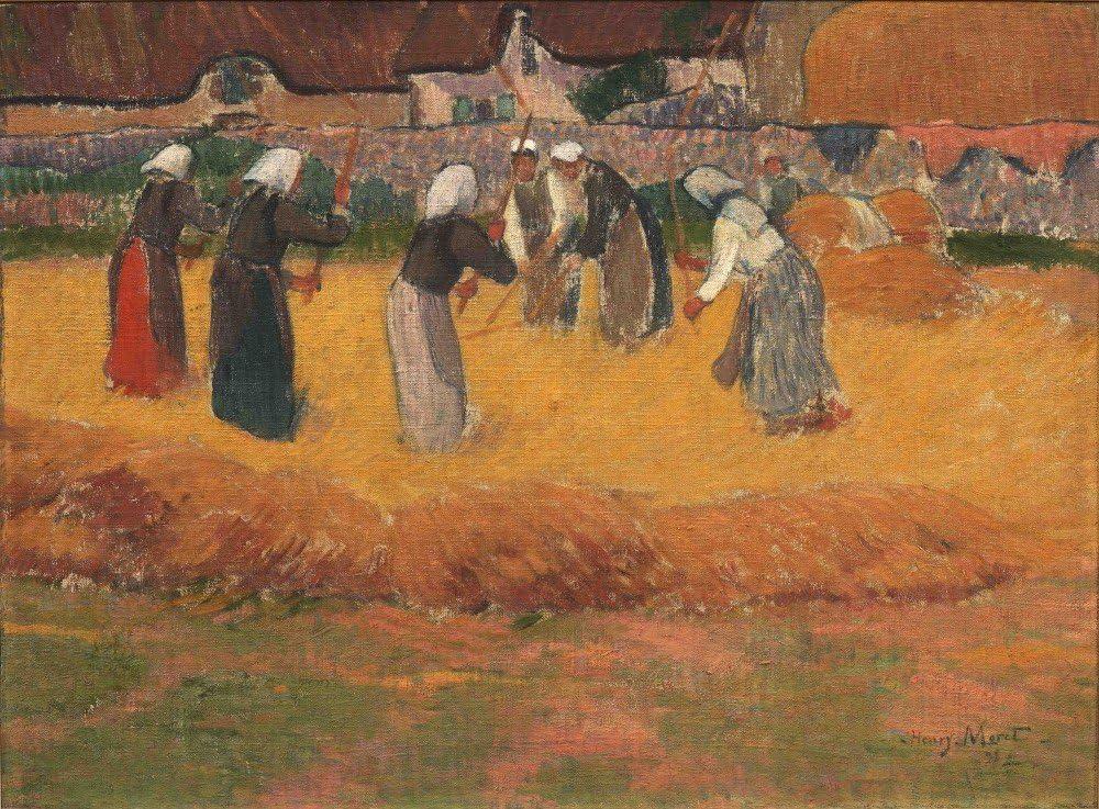 Das Museum Outlet – Dreschen von Getreide – Poster Print Online kaufen (76,  2 x 101, 6 cm) - Amazon.de