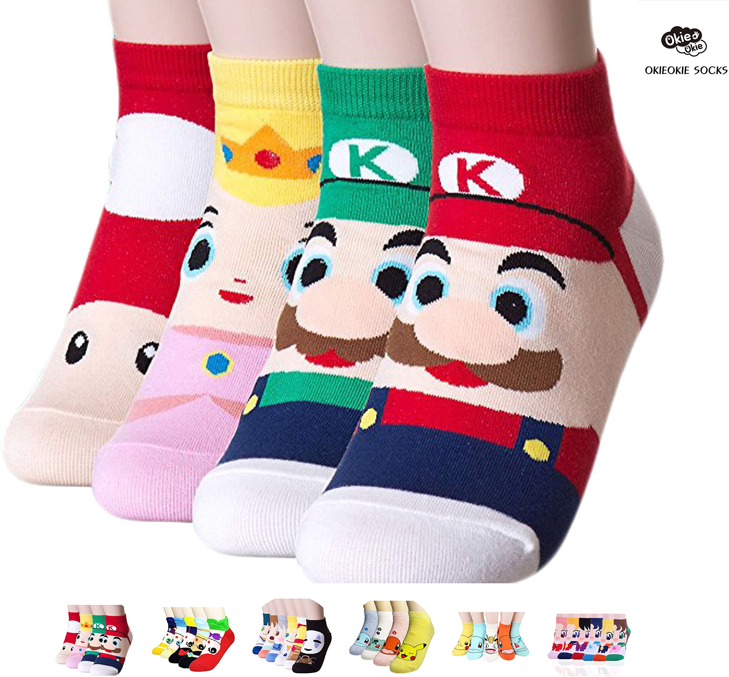 Womens Christmas Gifts.Okie Okie Best Selling Womens Socks Gift Animal Cat Dog