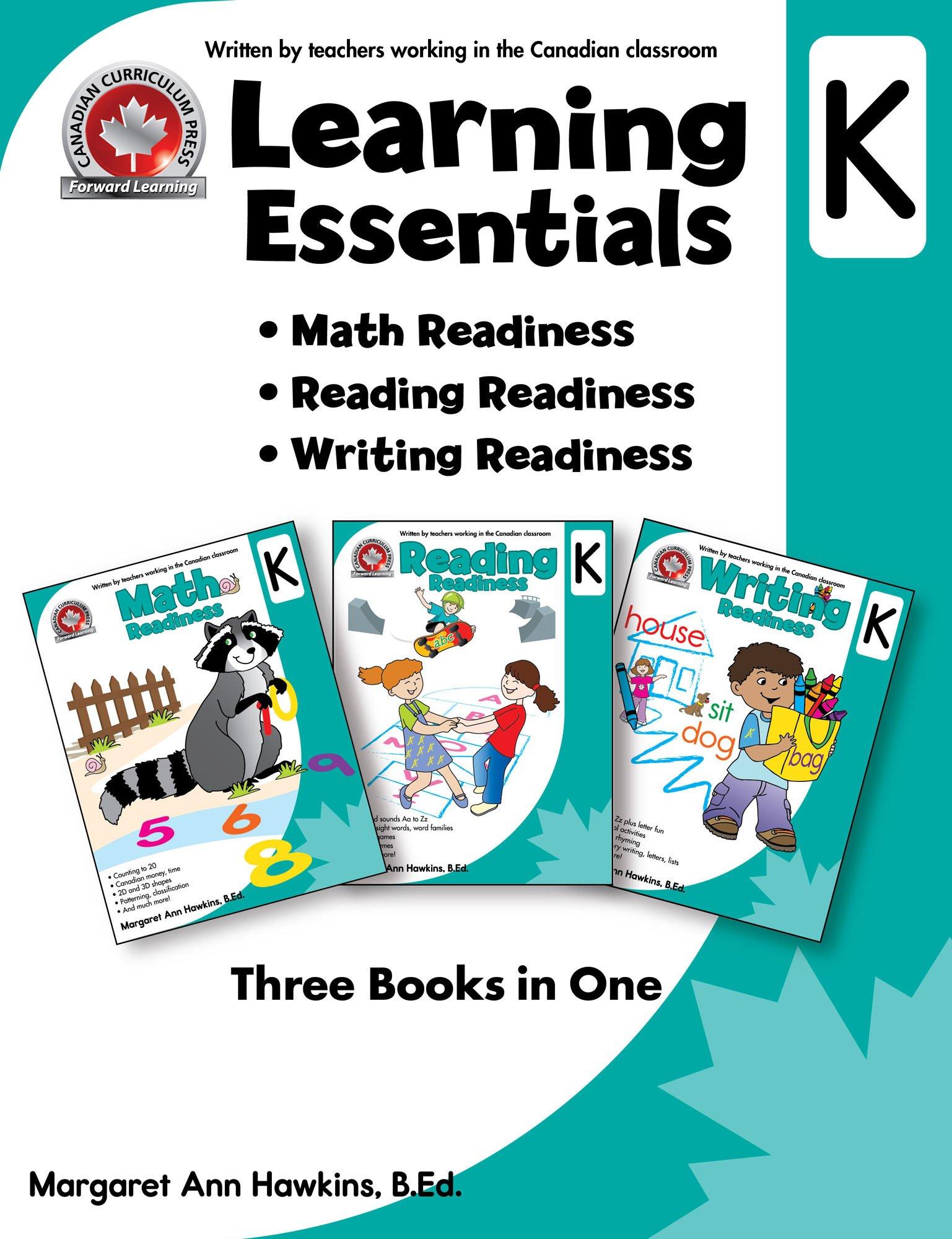 Learning Essentials Kindergarten: 9781770621961: Amazon.com: Books