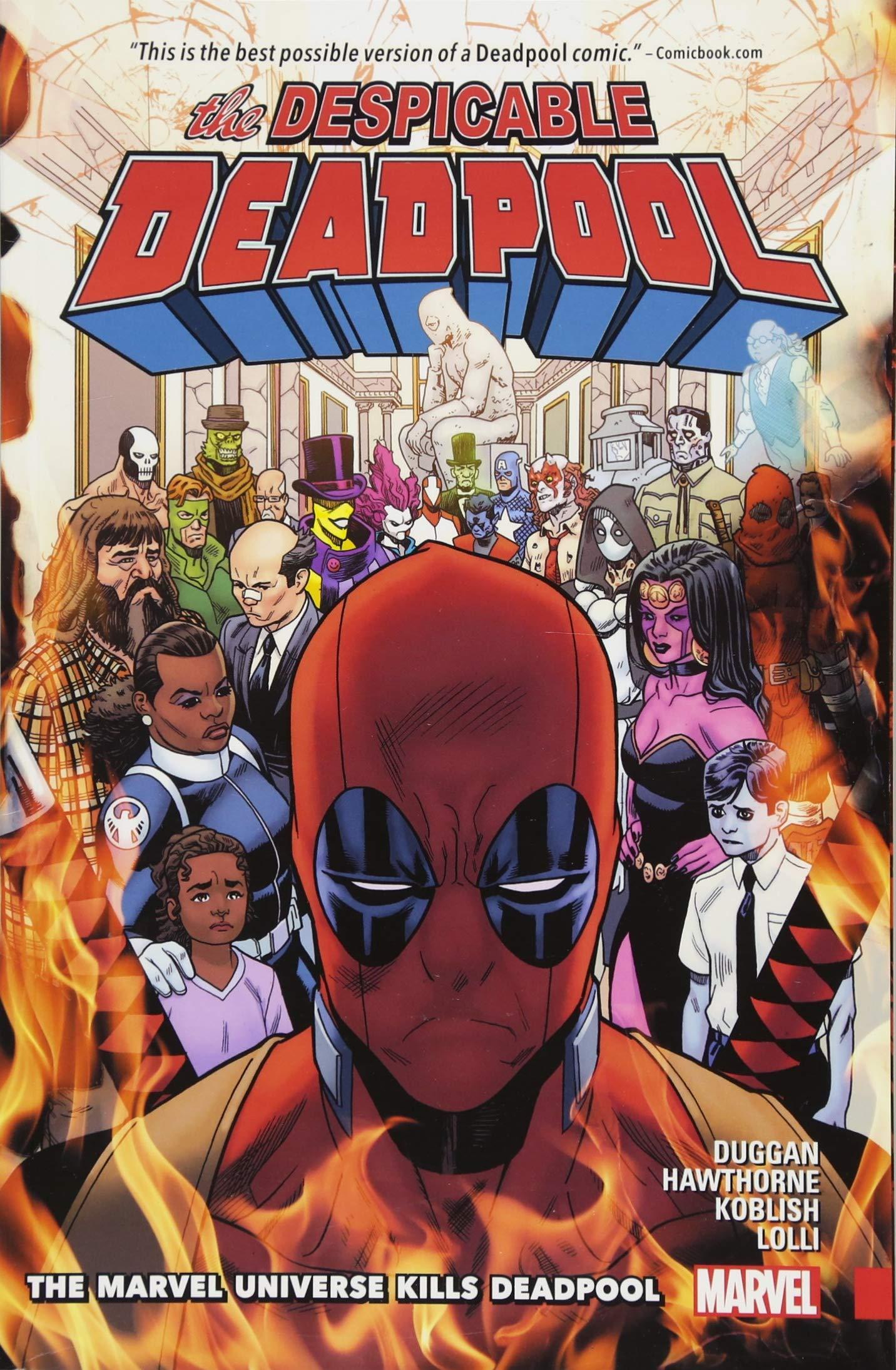 Download Despicable Deadpool Vol. 3: The Marvel Universe Kills Deadpool pdf epub