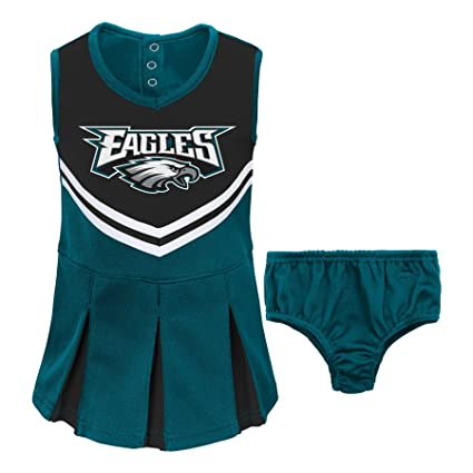 193b8a0a2 NFL Philadelphia Eagles Girl s Toddler Two Piece Cheerleader Outfit